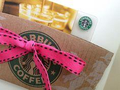 Cute holder for Starbucks Gift Card