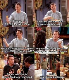 This is why I love Chandler Bing…