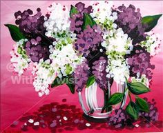 Rochester Lilacs - - Painting with a Twist