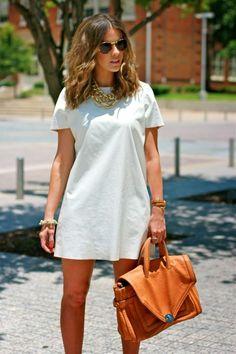 T-Shirt como Vestido