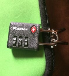 Protect Your Bags With MasterLock TSA Accepted Luggage Lock Giveaway - http://twoclassychics.com/2015/01/protect-bags-masterlock-tsa-accepted-luggage-lock/