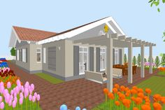 Sweet Home 3D, Sweethome3d, Terrasse