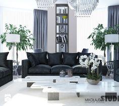 luksusowy salon - zdjęcie od MIKOŁAJSKAstudio
