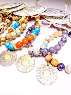 TOKEN JERSEY promotes EARTH SEA & SOUL with this Token Collective creation. Shop online! TokenJersey.com Aromatherapy Benefits, Bangles, Beaded Bracelets, Love Charms, Feminine Energy, Stone Bracelet, Essential Oils, Earth, Turquoise