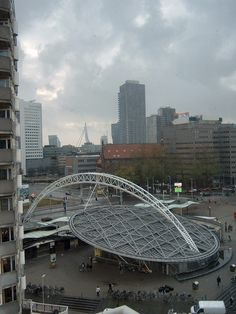 Station Rotterdam-Blaak, The Netherlands. We like this design!