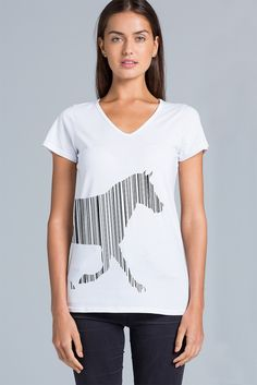 Tee shirt design (front) for a client who owns a website which sells clothing, homewares and gifts for the equestrian enthusiast. Based in Auckland, New Zealand. Mocked up on a tee shirt by as Colour. Design by Cheyney is a small business providing a range graphic design solutions. Cheyney is based in Auckland, New Zealand but creates artwork for a range of clients all over the world.