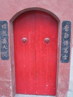 chinese Door,