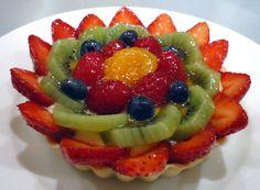 French Cream Fruit Tart