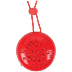 Naxa Neckband Bluetooth Speaker (red)