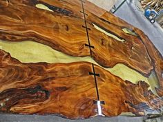 Beautiful Resin Wood Design Tables Wood Tables Tables And Atelier - This amazing resin table is made using 50000 year old wood