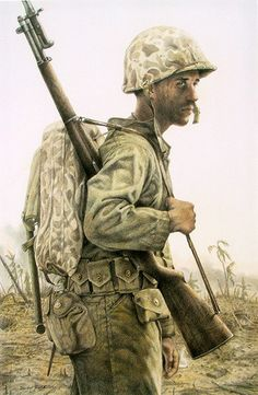 """The Grim Face Of War"" ... by Michael Gnatek"
