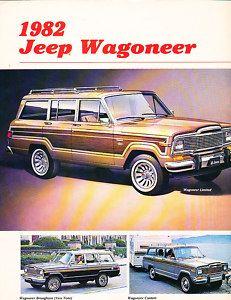 1982 Jeep Grand and Wagoneer Original Sales Brochure Brougham | eBay