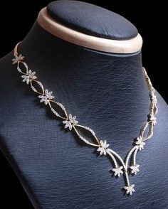 Indian Simple and stylish Diamond Necklaces