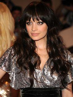 Famous Dark Brunettes    that hair cut ,makeup too