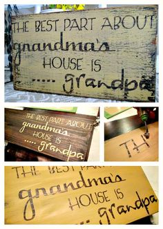 Down to Earth Style: Homemade Gift for Grandpa