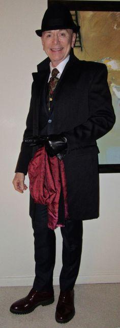 Sandy Dalal overcoat, Lab Pal Zileri suit, Calvin Klein shirt, vintage cravat, Tommy Hilfiger waistcoat, Boemos patent leather slip-ons…  #SandyDalal #LabPalZileri #CalvinKlein #vintage #TommyHilfiger #Boemos #Toronto #WIWT #menswear #mensweardaily #mensfashion #instafashion #fashion #dandy #dandystyle #sartorial #sartorialsplendour #sprezzatura #menstyle #dapper #dapperstyle #menshoes