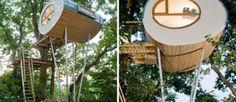 La cabane où vous allez vouloir grimper cet été !