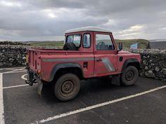 Land Rover Defender Pickup, Defender 90, Irish, Monster Trucks, Cars, Pickup Trucks, Irish Language, Ireland