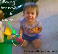 Easy DIY Music Maker for Kids using a toliet paper roll, fancy duck tape, and small pasta or rice: The Non-Martha Momma