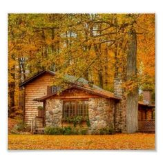 Want to experience the goodness of living in a country-style house and away from the city, and if you love hands-on, log cabin kits is the solution. Cozy Cabin, Cozy Cottage, Cottage Homes, Cabin In The Woods, Little Cabin, Log Cabin Homes, Log Cabins, Rustic Cabins, Cabins And Cottages