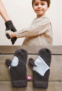 mommy and kid mitts