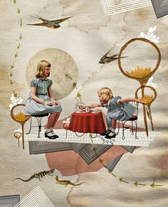 Alice collage by Heather Landis