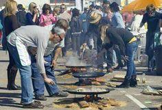 Concurso de paellas en la calle