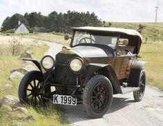 1914 Mercedes 28/95 Phaeton