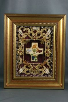 Monastery Icons, Momento Mori, Hand Crafts, Shadow Box, Rose, Crochet, Projects, City, Craft