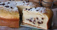 Creamy cake with ricotta - Torta cremosa alla ricotta Italy Food, Bread Cake, Sweet Bread, Kitchen Recipes, Healthy Treats, Creative Food, Cakes And More, Love Food, Sweet Recipes