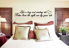 Life's a Long and Winding Ride - Vinyl Wall Quote Decal - Wall Decal, Office, Home Decor