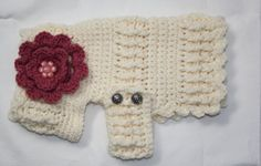 Small DOG JACKET Hand made Crocheted in by SherrisPhotographs