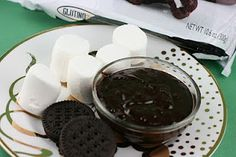 chocolate mint fondue in crock pot