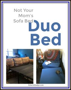 DuoBed: Not Your Mom's Sofa Bed – Eclectic Evelyn