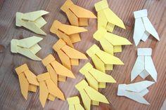 Abeilles Origami 15 Décoration Mariage par LaureDaintyArt sur Etsy