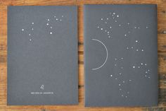 summer zodiac letterpress prints from portland apothecary