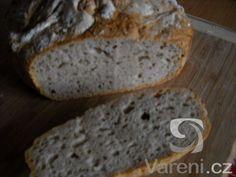 Bramborový chléb z hrnce -