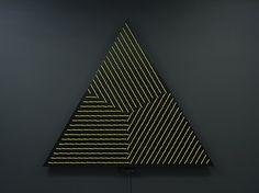 Angles Mirror, una instalación de Daniel Rozin.