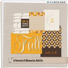 A Harvest of Memories ~ Mira Designs