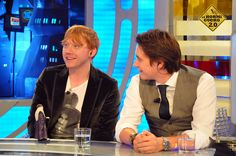 Rupert Grint, Oliver & James Phelps