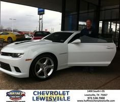 #HappyAnniversary to Michel Mitchell on your 2014 #Chevrolet #Camaro from Everyone at Huffines Chevrolet Lewisville!