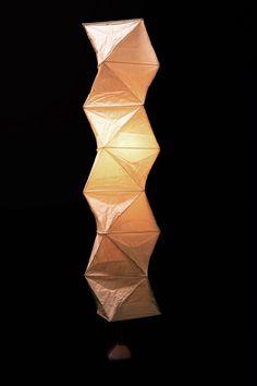 イサムノグチ AKARI スタンドライト L8-ST2 / フロアースタンドタイプ Noguchi Lamp, Isamu Noguchi, Japanese Paper Lanterns, Classic Lighting, Paper Light, Beautiful Lights, Old And New, Lamp Light, Lamps