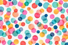 Polka Dots by Margaret Berg | #cell, #phone, #backgrounds, #wallpaper