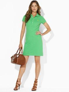 Ralph Lauren Mercerized Polo Dress, $145