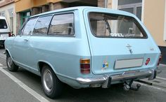 My first car I bought with my owe money was Opel Station Wagon.  Mine was yellow and I called her Abby