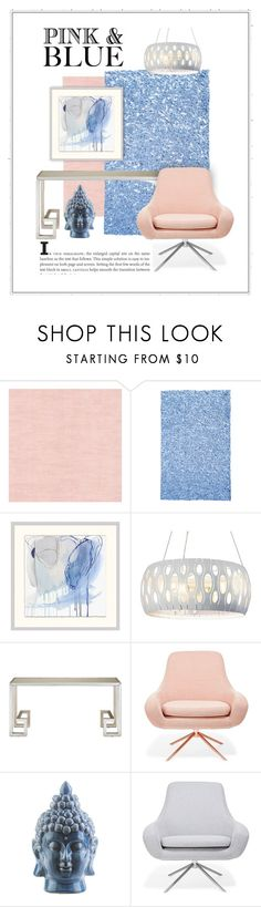 """""""Calm Comfort"""" by patricia-dimmick ❤ liked on Polyvore featuring interior, interiors, interior design, home, home decor, interior decorating, The Rug Market, Pottery Barn, Varaluz and Currey & Company"""