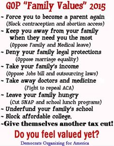 """""""Family Values"""" of the GOP"""