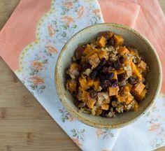Palouse Harvest Sweet Potato Casserole | Feed Your Skull #thanksgiving #holiday #recipe