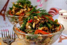 Представляем вашему вниманию рецепт очень аппетитного салатика для разнообразия вашего меню. Егоможно есть хоть каждый день. Он легкий, сытный и очень аппетитный. Также порадует тех, кто не употребляет...