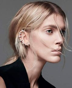 Piercing Types and 80 Ideas On How to Wear Ear Piercings - Beauty Tips, Hair Care